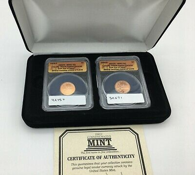2009 P & D Lincoln Bicentennial Professional Yrs Cent SET - ANACS MS67 RD, FDOI