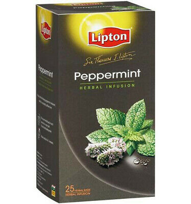 Lipton Peppermint Sir Thomas Tea Bag 25s