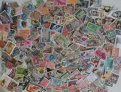 Lot of 200 Assorted Worldwide Stamps, All Different, Used Off Paper Older Stamps