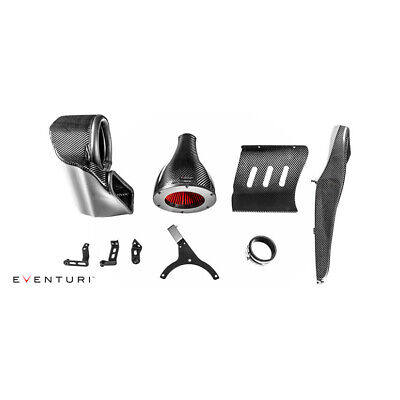 Eventuri For Audi B9 Rs5/Rs4 Black Carbon Intake Airbox With Secondary Duct
