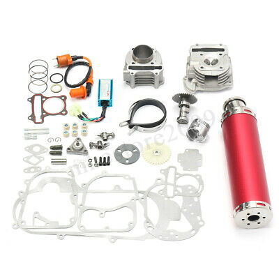 100cc Chinese Scooter Racing Part Big Bore Kit Exhaust 139QB 1P39QMB GY6 50cc !