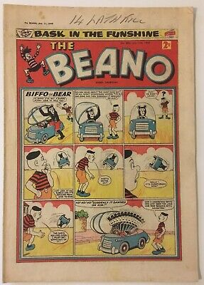The Beano comic No.886 July 11th 1959