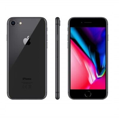 Iphone 8 Ricondizionato 64Gb Grado A Nero Black Originale Apple Rigenerato