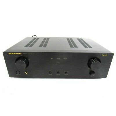 NAD C 340 HiFi Separate Stereo Integrated Amplifier (Black) inc