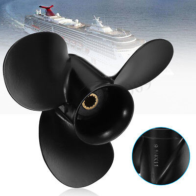 Outboard Propeller For 9 1/4 x 11 Evinrude Johnson OMC 8-15HP 174817 778773 !