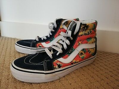 6c11a6af8d Rare Vans X Star Wars Yoda Aloha Hi High Tops Boots Trainers Size UK 4.5 US