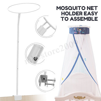 Baby Mosquito Net Holder Clip-on Canopy Bracket Cot Bed Netting Crib  !