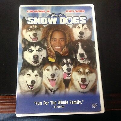 Disney SNOW DOGS with Cuba Gooding Jr - James Coburn DVD