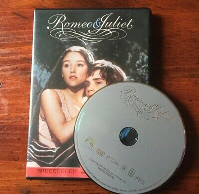 Romeo and Juliet Widescreen (DVD, 1968) 1829-373-016 Olivia Hussey L. Whiting