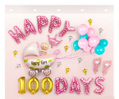 D30 Pink/Gold Foil Balloons Alphabet /Number Birthday Weding Party Balloon