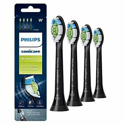 NEWEST VESION Philips Sonicare Diamond Clean Toothbrush Heads Black NEW DESIGN!!