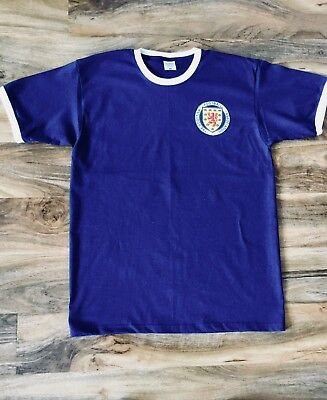 Mens Retro Scotland 1967 Style Replica Home Shirt Top Jersey S M L XL XXL 3XL