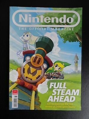 Nintendo Official Magazine Issue 50 Christmas 2009 First Review of Zelda