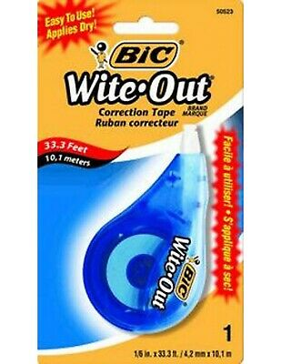 Bic Wite Out Korrekturband Blisterpackung 1pk