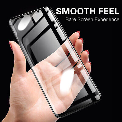For Samsung Galaxy S10 Plus S9 Note 9 S7 Tempered Glass Full Screen Protect Film