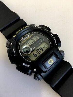 Casio G-Shock Men's DW-9052 Digital Chronograph Black Resin Watch 3232