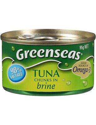 Greenseas Tuna In Brine 95gm x 12