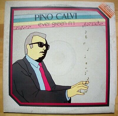 Pino Calvi Ever Green N 1 Vinile Lp 33 Giri Nm Near Mint Mai Ascoltato Rarissimo