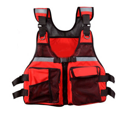 D24 Fishing Water Sports Kayak Canoe Boat Surf Ski Sailing Life Jacket Vest O