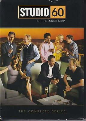 Studio 60 on the Sunset Strip: The Complete Series (DVD, 2007) RARE DVD set