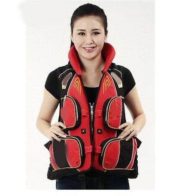 D39 Fishing Water Sports Kayak Canoe Boat Surf Ski Sailing Life Jacket Vest O