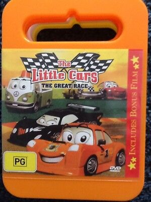 THE LITTLE CARS : THE GREAT RACE - Animated Kid's DVD