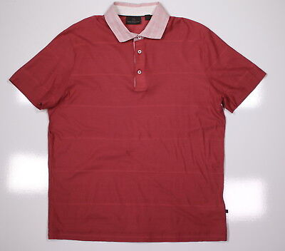 4ae06307 BOSS SELECTION * by Hugo Boss Recent Red Slim Fit Golf Polo Shirt~ Large