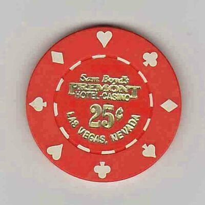 Vintage 25¢ chip from the Fremont Casino (1985) Las Vegas