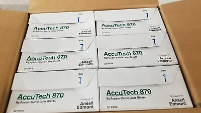 Ansell 91-870 120 Pk Size 7 Clean Process Gloves