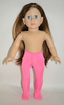 """American Girl Doll Our Generation Journey 18"""" Dolls Clothes Pink Lycra Tights"""