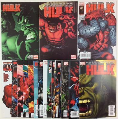 Hulk #1 to #23 includes variants (Marvel 2008) 23 x issues.