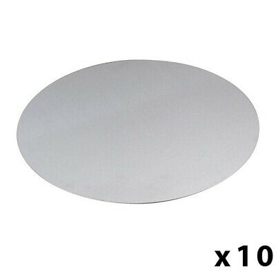 "10 x 13"" Aluminium Pizza Pan Lid Separator Tray Stacking Disk Commercial Quality"
