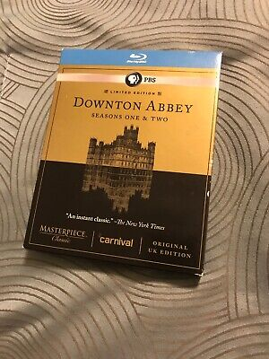 Masterpiece Classic: Downton Abbey - Seasons One  Two (Blu-ray Disc)