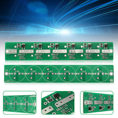 6String 2.7V 100F//120F Super Capacitor Protection Board Balance Plate Module