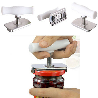 Efficiency Bottle Jar Can Lid Opener Cap Grip Twister Easy Remover Kitchen Tool