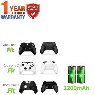 1200 mAh Rechargeable Battery Pack for Xbox One Wireless Controller