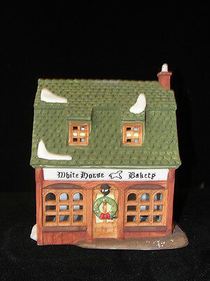 Dept 56 Dickens Village WHITE HORSE BAKERY 1988 5926-9