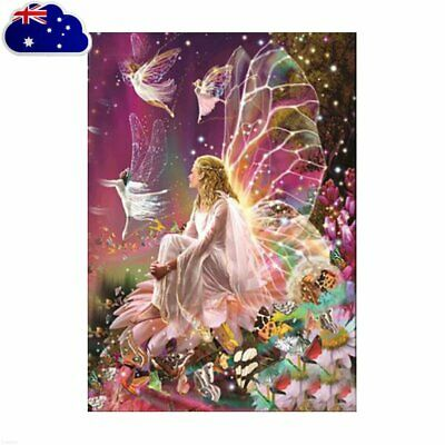 Fairy Full Drill DIY 5D Diamond Painting Embroidery Cross Stitch Kit Decor MN