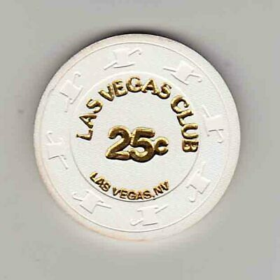 Vintage 25¢ chip from the Las Vegas Club Casino (1980s) Las Vegas