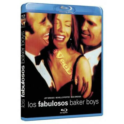 The Fabulous Baker Boys NEW Cult Blu-Ray Disc S. Kloves Jeff Bridges M. Pfeiffer