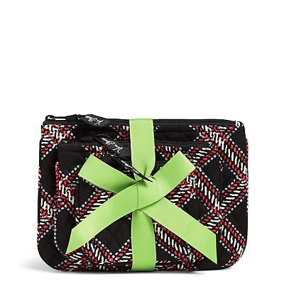 d217884f06 NWT VERA BRADLEY Cosmetic Trio Makeup Bag Set Sierra Stream -  15.89 ...