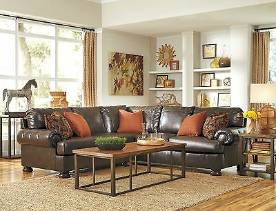 Ashley Furniture Nesbit Antique Traditional Sectional 31600