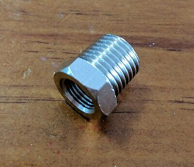 "Airbrush hose adapter 1/8"" female to 1/4"" male"