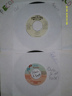 "Lot Of 24 Reggae Dancehall Vinyl 7"" JA Import Singles"