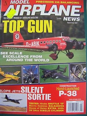 Model Airplane News September 1997 - Precision Cg Balancing Article