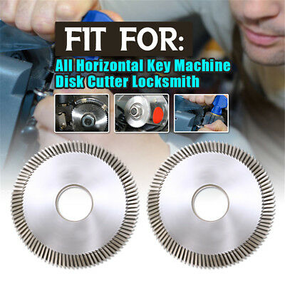 Key Cutting Blade For All Horizontal Machines Disk Cutter Locksmith Tool Machine