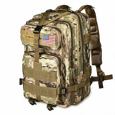 NOOLA 40L TACTICAL Army Backpack 3 Day Pack Molle Bug Out Bag Backpack CP -  EUR 31 c5977e0383364