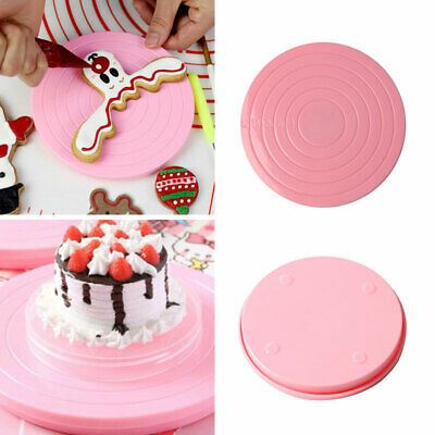 Turntable Round Baking Decorating Rotating Cake Tool Plate Cake Turntable Mould