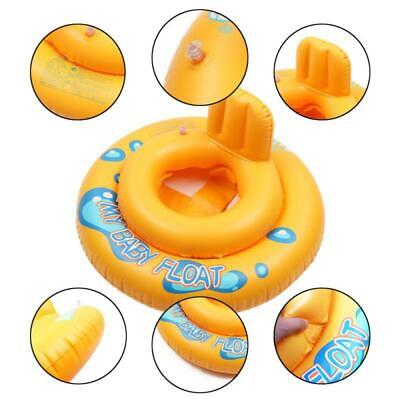 Safety Baby Float Swim Seat Support Pool Inflatable Aid Ring Pool For 0-3Y Kids