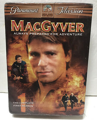 NEW MacGyver Season 1 DVD Complete Set Sealed S1 One